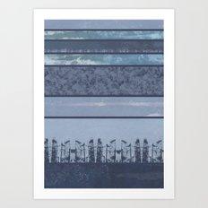 City lines Art Print