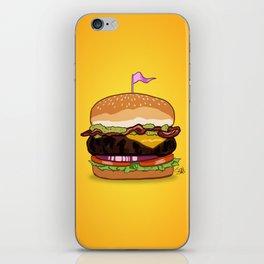 Bacon Cheeseburger iPhone Skin