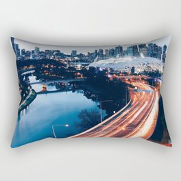 When the City Comes Alive Rectangular Pillow