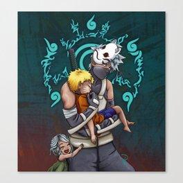 Taking Naruto Home 2 Canvas Print