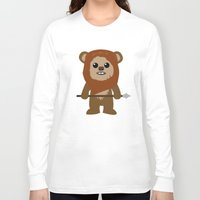 ewok Long Sleeve T-shirts featuring Ewok forever by Bonitismo