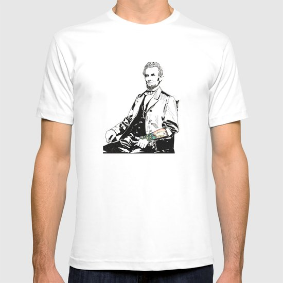Inked Lincoln T-shirt