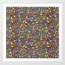 Candy Sprinkles Art Print