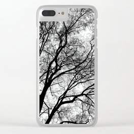 Tree Silhouette Series 1 Clear iPhone Case