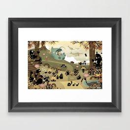The Octonauts Sea of Shade Framed Art Print