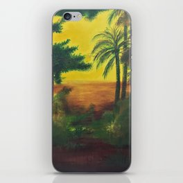 Day in the wetlands iPhone Skin