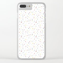 Triangle sky Clear iPhone Case