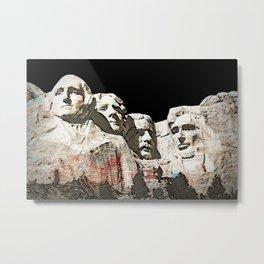 Mount Rushmore National Memorial Metal Print