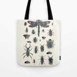 Collection of Insects Tote Bag