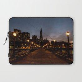 Transamerica Pyramid Pier Laptop Sleeve