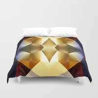 pear Duvet Covers featuring Pear by Cs025
