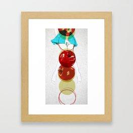 your gravitation Framed Art Print