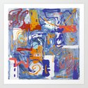 Shamanic Painting 01 by jillianmameycritelli