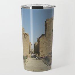 Temple of Karnak at Egypt, no. 4 Travel Mug
