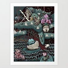 Love After the Election Art Print