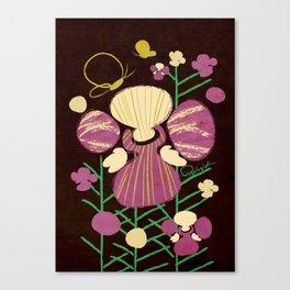 Floral Flower Artprint Canvas Print