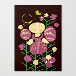 Floral Flower Artprint Canvas Print