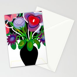 Vase with Flowers Stationery Cards