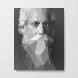 Rabindranath Tagore (7 May 1861 – 7 August 1941) Metal Print