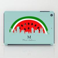 watermelon iPad Cases featuring watermelon by mark ashkenazi