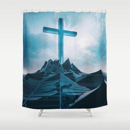 2GOD BE THE GLORY EGFXF28 Shower Curtain
