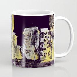 Yellow Purple Cityscape Coffee Mug