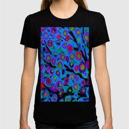 Blue Trees in The Wind T-shirt