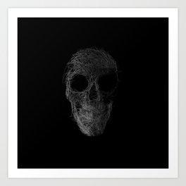 Sk(etch)ull Art Print