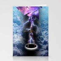 skeleton Stationery Cards featuring SKELETON by sametsevincer