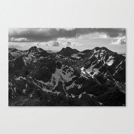 The Cuillin Ridge I Canvas Print
