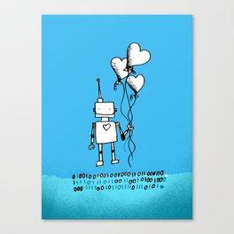 A romantic gesture Canvas Print