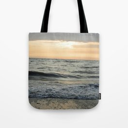 Summer Beach Sunset Tote Bag