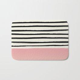 Blush x Stripes Bath Mat