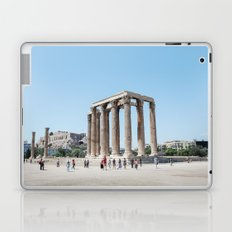 The temples of Athens Laptop & iPad Skin
