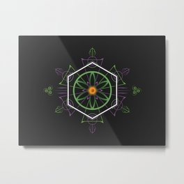Flower of Life Metal Print