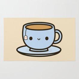 Cute cup of tea Rug