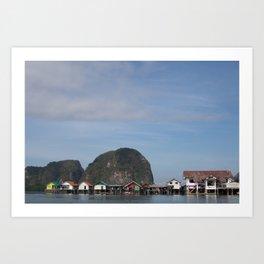 Fishing Village of Koh Panyi Art Print