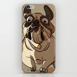 Leone the British bulldog iPhone Skin