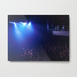 there's something about concerts Metal Print