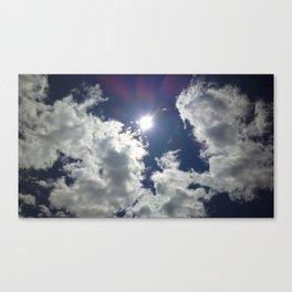 A Cloud Affair Canvas Print