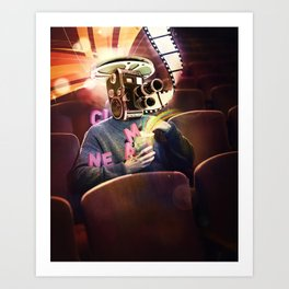 Cinema Poster Art Print