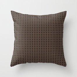 Circles ...purple,yellow, black , green Throw Pillow