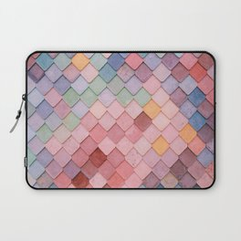 Pink Tiles (Color) Laptop Sleeve