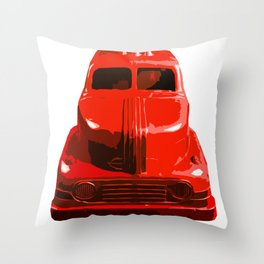 The Bad Trucko Throw Pillow
