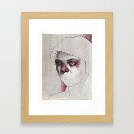 NaNoDrawMo 2012 - 18 Framed Art Print