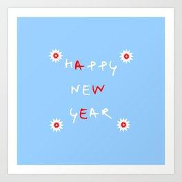 happy new year 14 Art Print