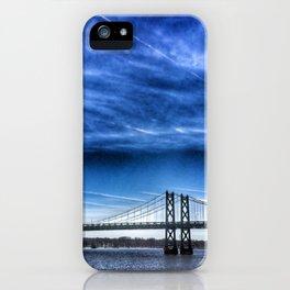 Interstate 74 Bridge on Mississippi River iPhone Case