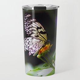 Butterflies + Twinkle Lights 1 Travel Mug