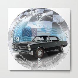 "1965 Pontiac GTO Decorative 10"" Wall Clock (010ac) Metal Print"