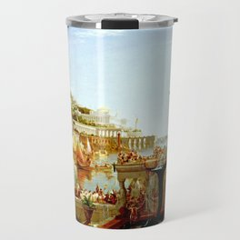 Cole Thomas The Consummation The Course of the Empire Travel Mug